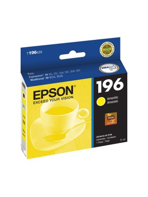 CARTUCHO EPSON ORIG.T196420 4ML YE