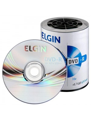 DVD-R (-) 4,7GB 16X (ENV) ELGIN