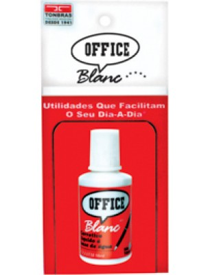 CORRETOR LIQUIDO 18ML OFFICE BLANC RADEX