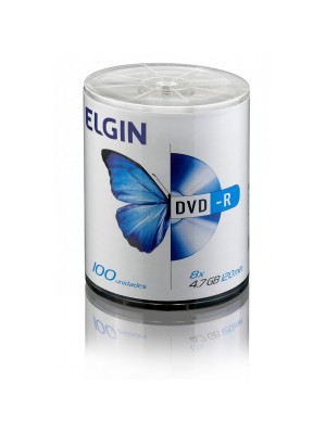 DVD-R (-) COM 100 4,7GB/120MIN ELGIN