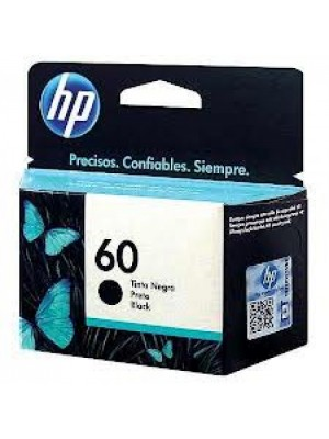 CARTUCHO ORIG. HP60 CC640WL 4,5ML PRETO