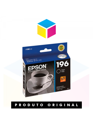 CARTUCHO EPSON ORIG.T196120 5ML BK