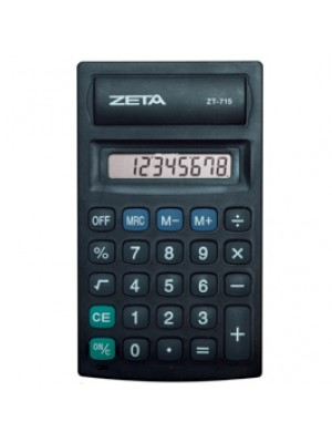 CALCULADORA MESA 8 DIGITOS 715 ZETA