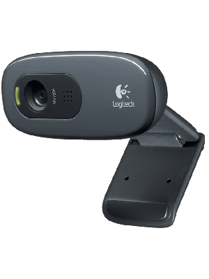 CAMERA WEBCAM HD 720P C/ MICROFONE C270 LOGITECH