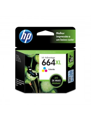 CARTUCHO ORIG. HP664XL F6V30AB 8ML COLOR