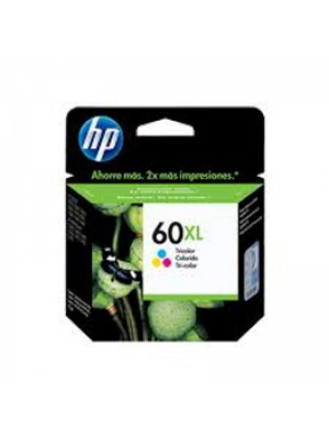 CARTUCHO ORIG. HP60XL CC644 15,5ML COLOR