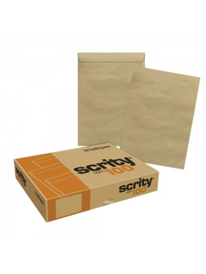 ENVELOPE KRAFT COM 250 110X170 KN017 SCRITY